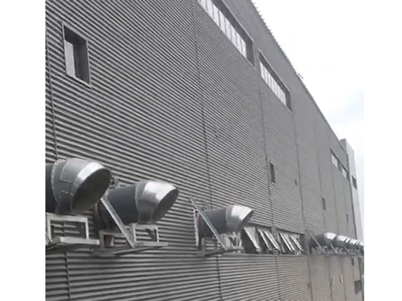 天津正压送风机工程案例