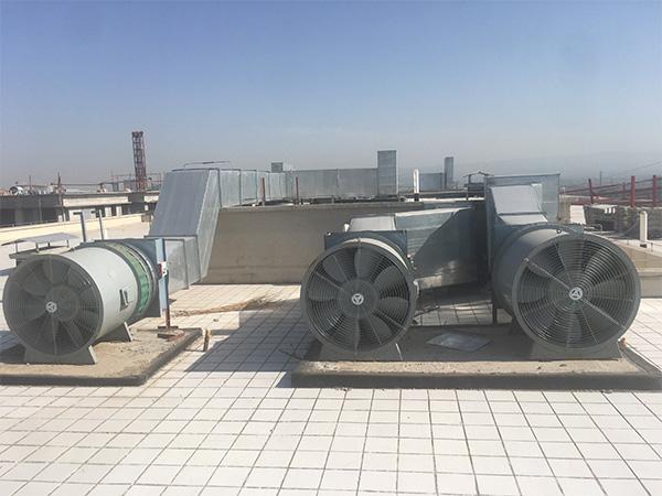 山西榆次聚莘科技酒店正压送风机