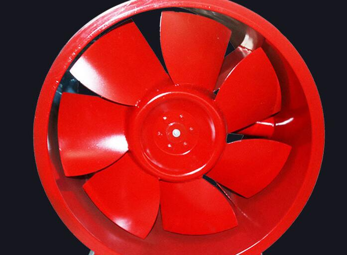 正压送风机(红色扇叶灰色机身)