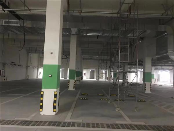青岛即墨区馨城家园二期车库工程案例